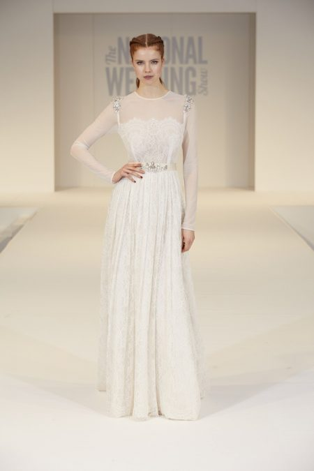 Katya Katya Shehurina Wedding Dress on The National Wedding Show Catwalk Spring 2017