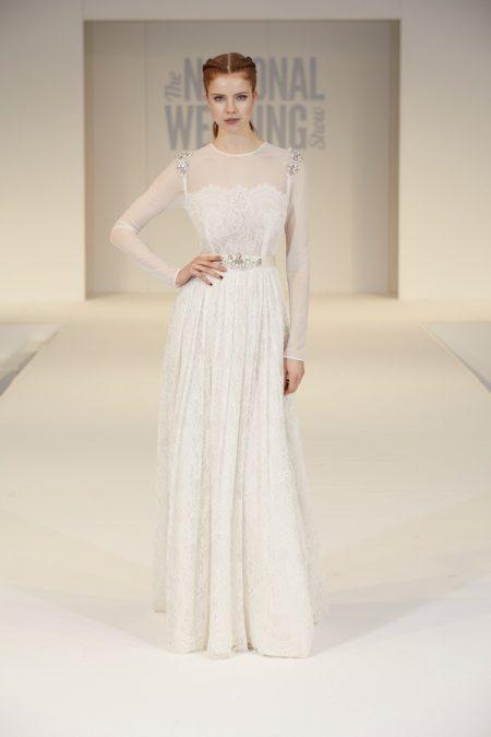 Katya Katya Shehurina Wedding Dress on The National Wedding Show Catwalk Spring 2017