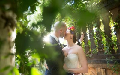 A Colourful, Mexican Themed Wedding at Tohono Chul Park