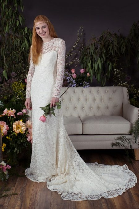 Leia Over-Dress with Ebony Under-Dress from the Naomi Neoh Eden 2017 Bridal Collection