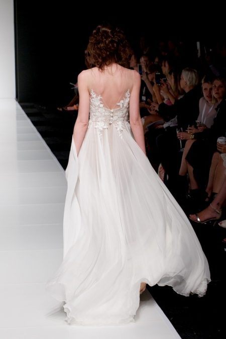 Back of Leila wedding dress from the Sassi Holford Twenty17 Bridal Collection