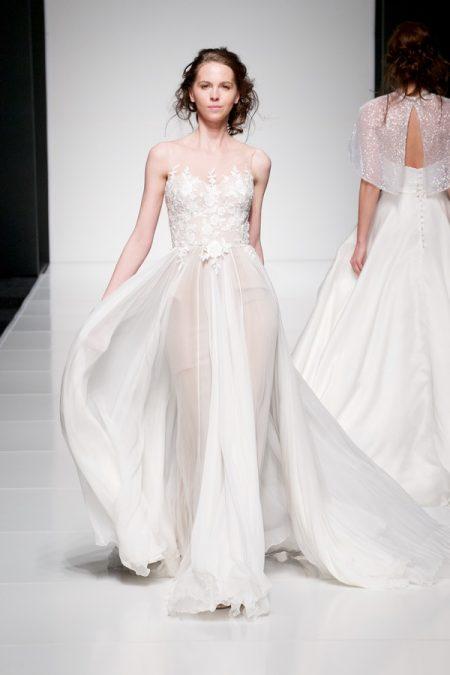 Leila wedding dress from the Sassi Holford Twenty17 Bridal Collection