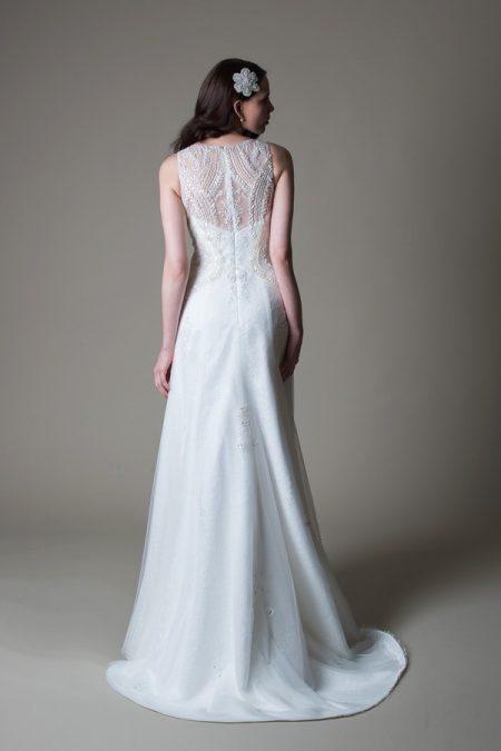 Back of Loretta wedding dress from the MiaMia True Romance 2017 Bridal Collection