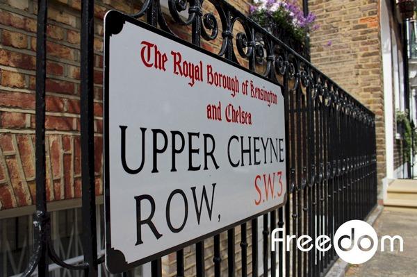 Kensington Chelsea sign