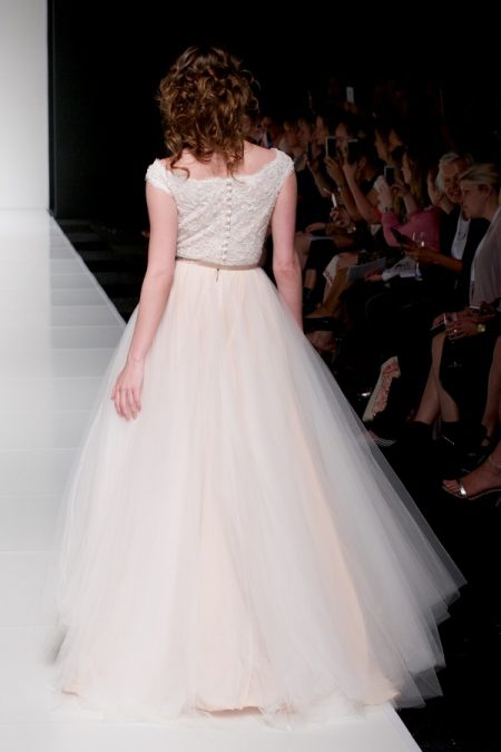 Back of Madeleine wedding dress from the Sassi Holford Twenty17 Bridal Collection