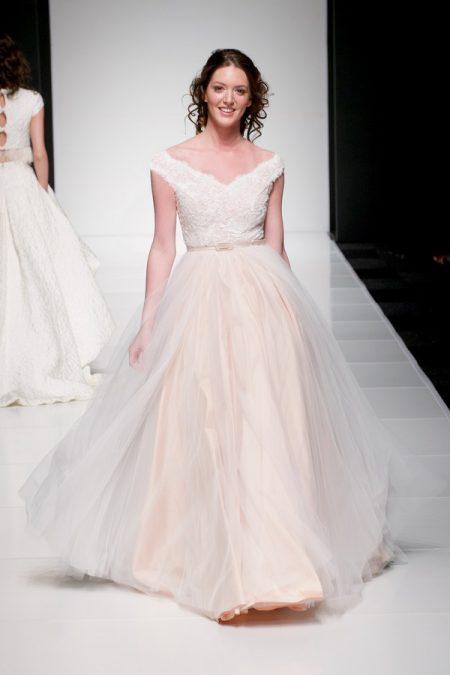 Madeleine wedding dress from the Sassi Holford Twenty17 Bridal Collection