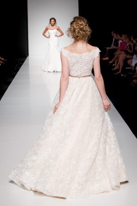 Back of Melissa wedding dress from the Sassi Holford Twenty17 Bridal Collection
