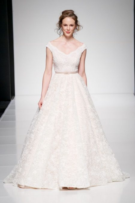 Melissa wedding dress from the Sassi Holford Twenty17 Bridal Collection