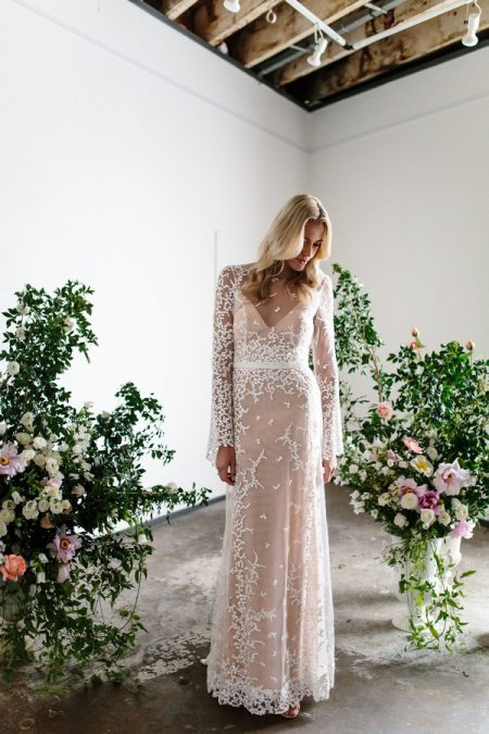 Pascale Wedding Dress from the Karen Willis Holmes Spring Meadow 2017 Bridal Collection