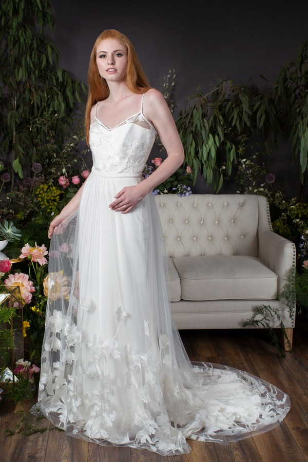 Poppy Camisole and Over-Skirt with Evie Under-Dress from the Naomi Neoh Eden 2017 Bridal Collection
