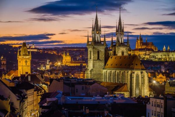 Prague in the Czech Replublic