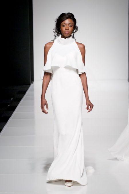 Savannah wedding dress with Savannah Top from the Sassi Holford Twenty17 Bridal Collection