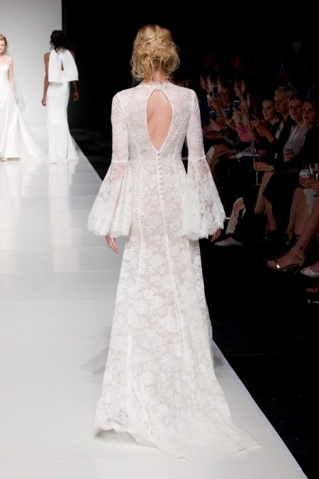 Back of Selena wedding dress from the Sassi Holford Twenty17 Bridal Collection