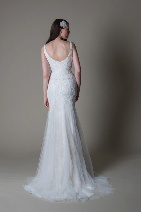 Back of Sophia wedding dress from the MiaMia True Romance 2017 Bridal Collection