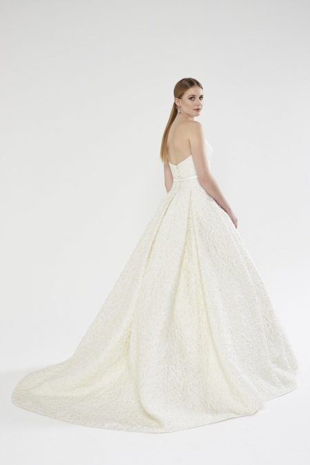 Back of Victoria wedding dress from the Sassi Holford Twenty17 Bridal Collection