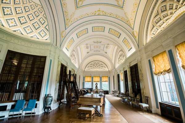 Sledmere House library