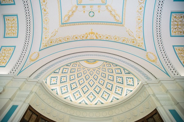 Sledmere House ceiling