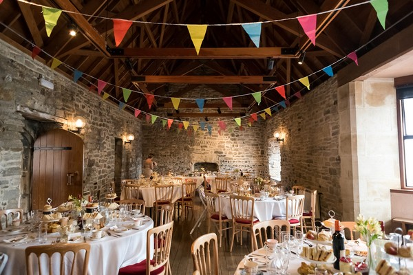 Scaplen's Court wedding tables