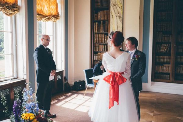 Sledmere House wedding ceremony