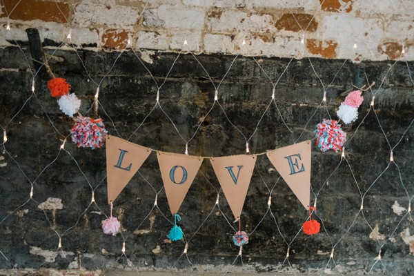 53. Love Bunting - April and James Sledmere House Wedding