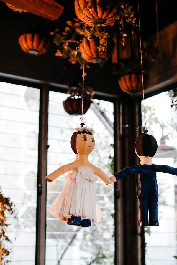 Bride and groom piñata
