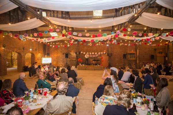 Best man speech in Barn at Home Farm Sledmere House