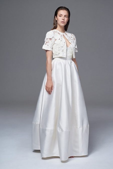 Alexa Skirt with Rosa Bolero Jacket from the Halfpenny London Wild Love 2017 Bridal Collection