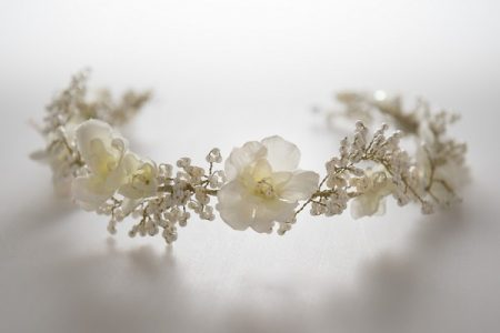 Alvarez Floral Hair Vine from the Gillian Million Spring 2017 Botanical Collection