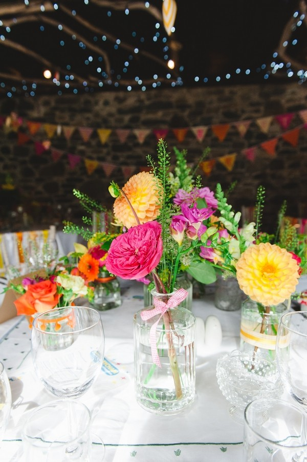 Bright Table Flowers