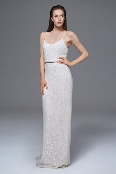 Celine Sequinned Camisole and Skirt from the Halfpenny London Wild Love 2017 Bridal Collection