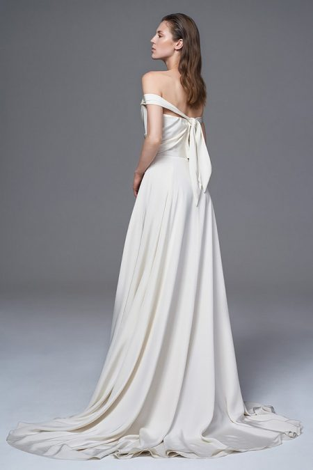 Back of Charlotte Wedding Dress from the Halfpenny London Wild Love 2017 Bridal Collection