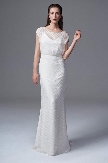 Chloe Chiffon Wedding Dress from the Halfpenny London Wild Love 2017 Bridal Collection