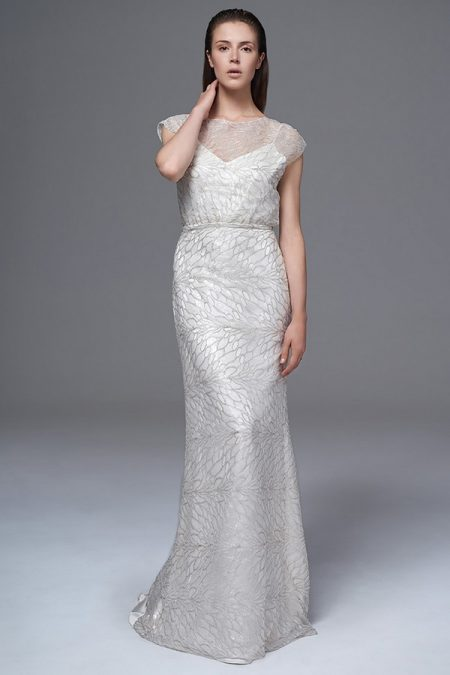 Chloe Silver Sequin Wedding Dress from the Halfpenny London Wild Love 2017 Bridal Collection