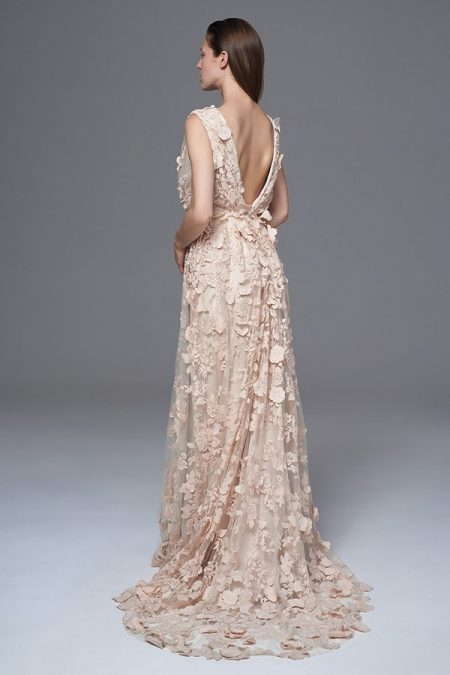 Back of Clemence Wedding Dress from the Halfpenny London Wild Love 2017 Bridal Collection