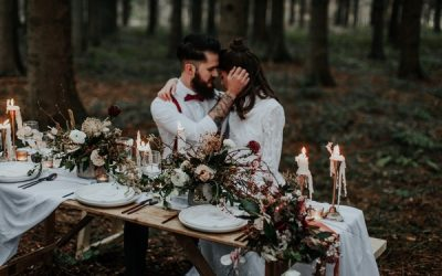 Still Nature Styled Wedding Shoot