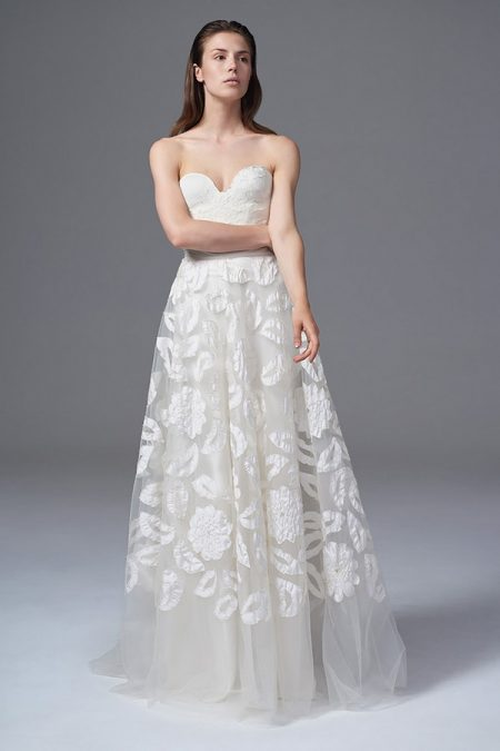 Dita Lace Corset with Suzie Skirt from the Halfpenny London Wild Love 2017 Bridal Collection