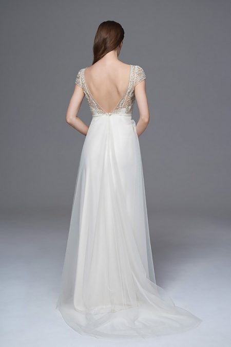 Back of Elaine Wedding Dress from the Halfpenny London Wild Love 2017 Bridal Collection