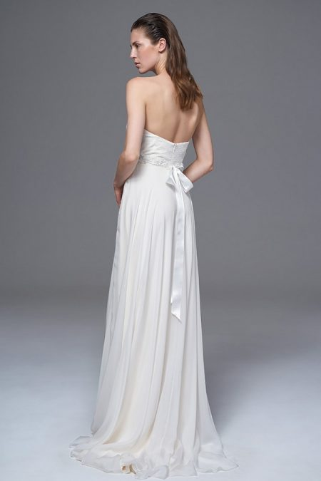 Back of Elke Wedding Dress with Jessica Belt from the Halfpenny London Wild Love 2017 Bridal Collection
