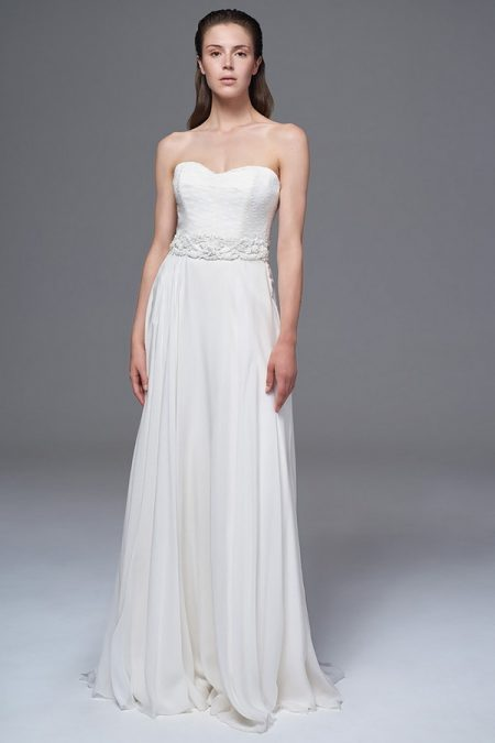 Elke Wedding Dress with Jessica Belt from the Halfpenny London Wild Love 2017 Bridal Collection