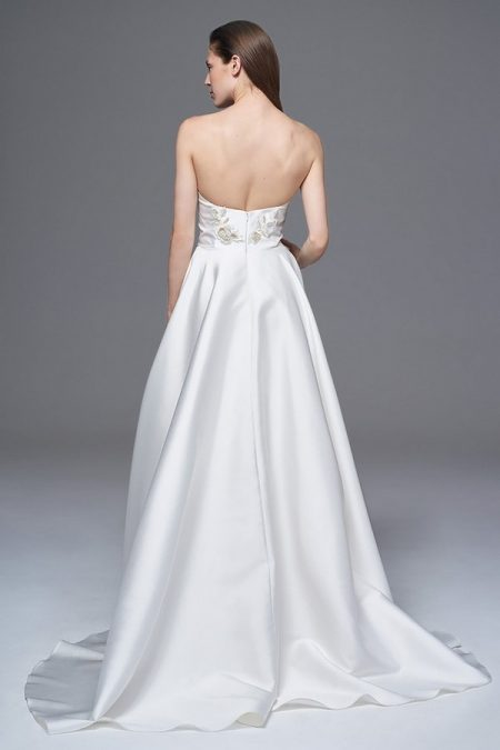 Back of Ellie Wedding Dress from the Halfpenny London Wild Love 2017 Bridal Collection
