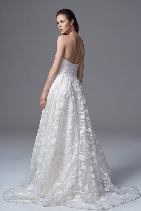 Back of Esme Wedding Dress from the Halfpenny London Wild Love 2017 Bridal Collection