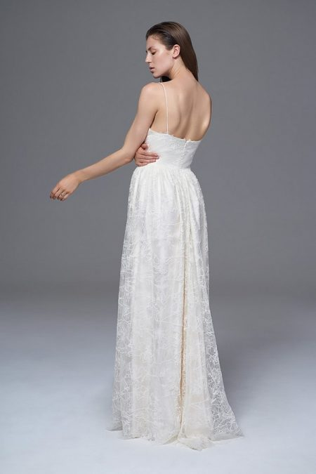 Back of Francesca Wedding Dress from the Halfpenny London Wild Love 2017 Bridal Collection