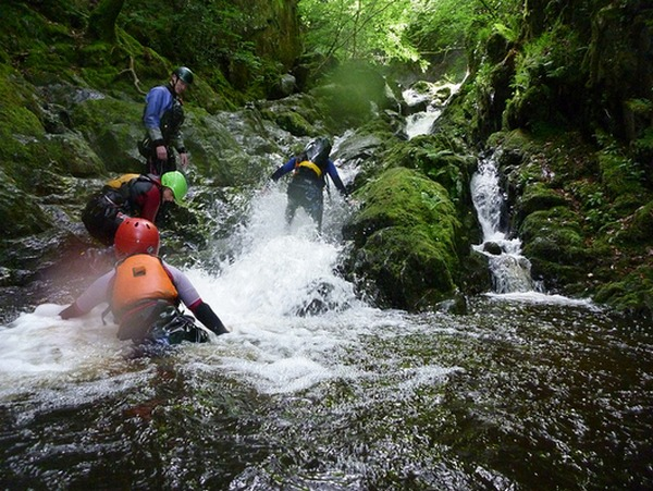 Gorge Walking in South Wales