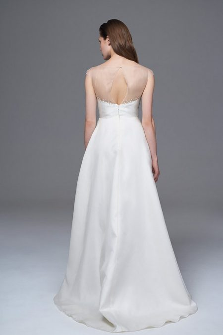 Back of Grace Wedding Dress from the Halfpenny London Wild Love 2017 Bridal Collection
