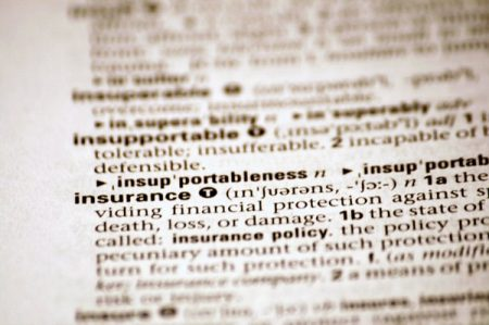 Insurance definition in dictionary