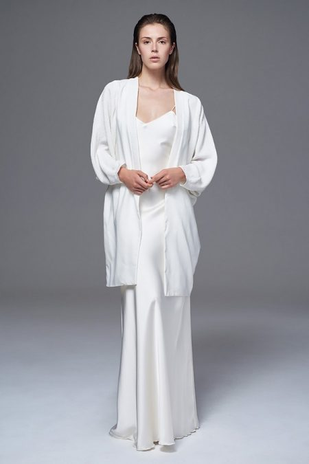 Bridal Kimono from the Halfpenny London Wild Love 2017 Bridal Collection