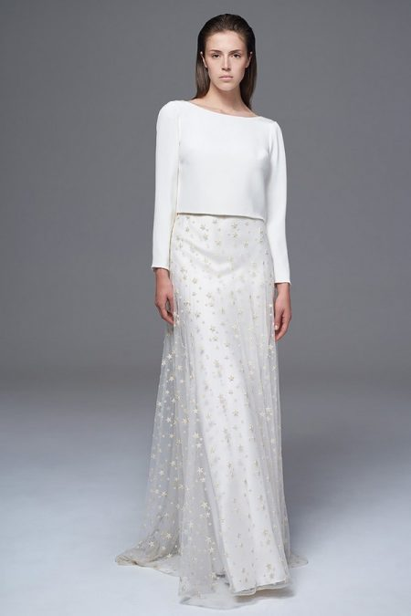 Laura Top with Star Skirt from the Halfpenny London Wild Love 2017 Bridal Collection