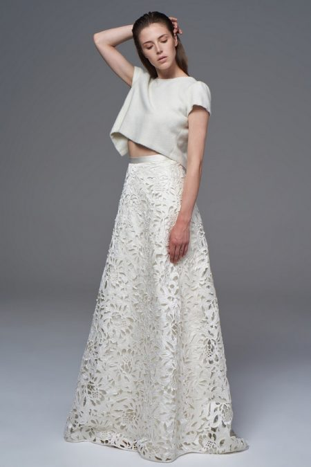 Leah Bolero with Isobel Skirt from the Halfpenny London Wild Love 2017 Bridal Collection