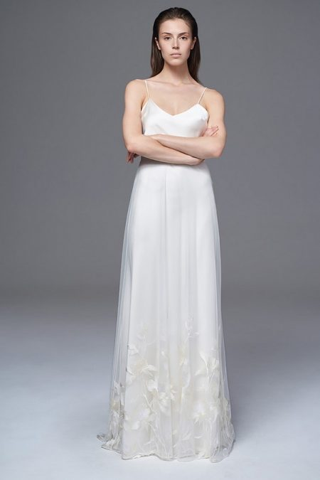Lily Skirt with Iris Slip from the Halfpenny London Wild Love 2017 Bridal Collection