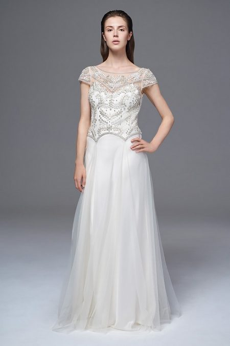 Marianne Wedding Dress with Iris Slip from the Halfpenny London Wild Love 2017 Bridal Collection